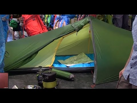 Vaude Lizard GUL Tent - Best New Products OutDoor 2013 & Vaude Lizard GUL Tent - Best New Products OutDoor 2013 - YouTube