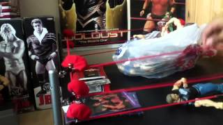 Super Rare WCW Trading Cards, Classic WWF Postcards And WWE Figures Massive Pickup