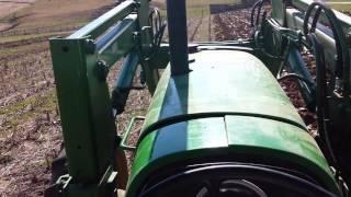 Plowing With Dad's John Deere 2550