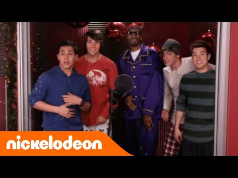 Big Time Rush | Natale in pigiama con Snoop Dogg | Nickelodeon Italia