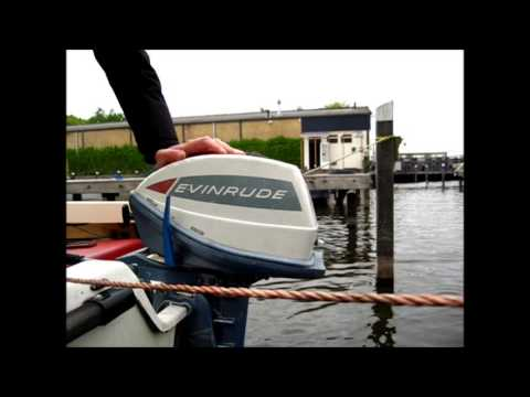 1965 evinrude 5 hp angler outboard motor youtube. Black Bedroom Furniture Sets. Home Design Ideas
