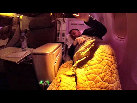 Flying Saudia from Jeddah during Ramadan (Business class to MYSELF!) 777-300 review