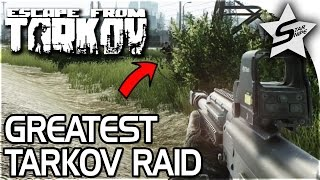 EPIC ESCAPE FROM TARKOV RAID, Too Much Action - Customs Raid Part 1 - Escape From Tarkov Gameplay