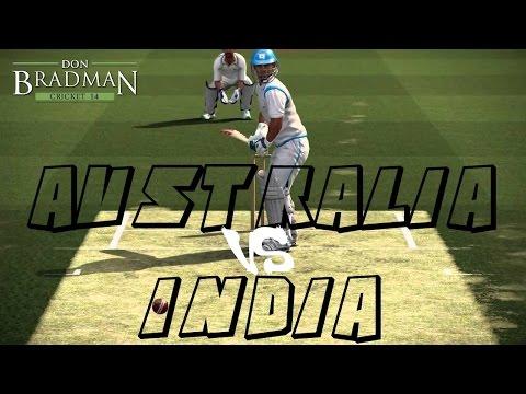 Don Bradman Cricket 14 PS4 1080P 60FPS Gameplay | Australia vs India | Online