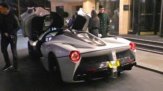 $2Million Ferrari LAFERRARI joins the lineup with BUGATTI CHIRON and 918 Spyder!