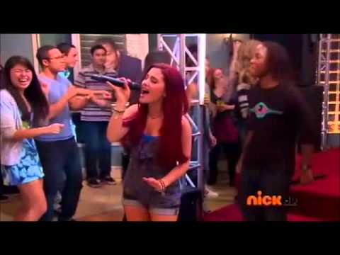 Leave it all to shine - Ariana grande(cat) singing