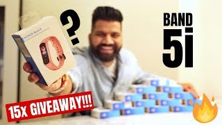 Honor Band 5i Unboxing & First Look - Best Fitness Band Under 2000Rs 15x Giveaway???
