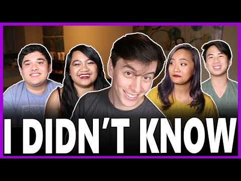 Asian Pacific American Heritage: I Can't Believe I NEVER KNEW... | Thomas Sanders