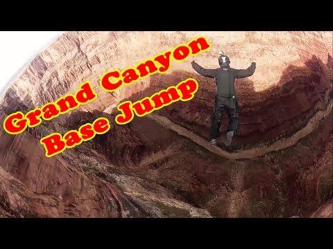 Grand Canyon   Base Jump