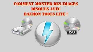 Comment monter une image disque ISO et utiliser DAEMON tools lite!  [HD]
