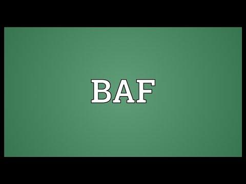 BAF Meaning