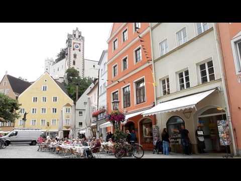 FüSSEN incantevole città della Baviera - HD