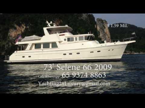 73' Flybridge Yacht Trawler Selene 2009 for sale