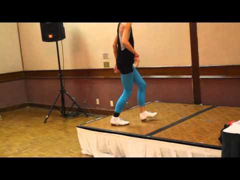 Rebecca Lee's Advanced clogging steps