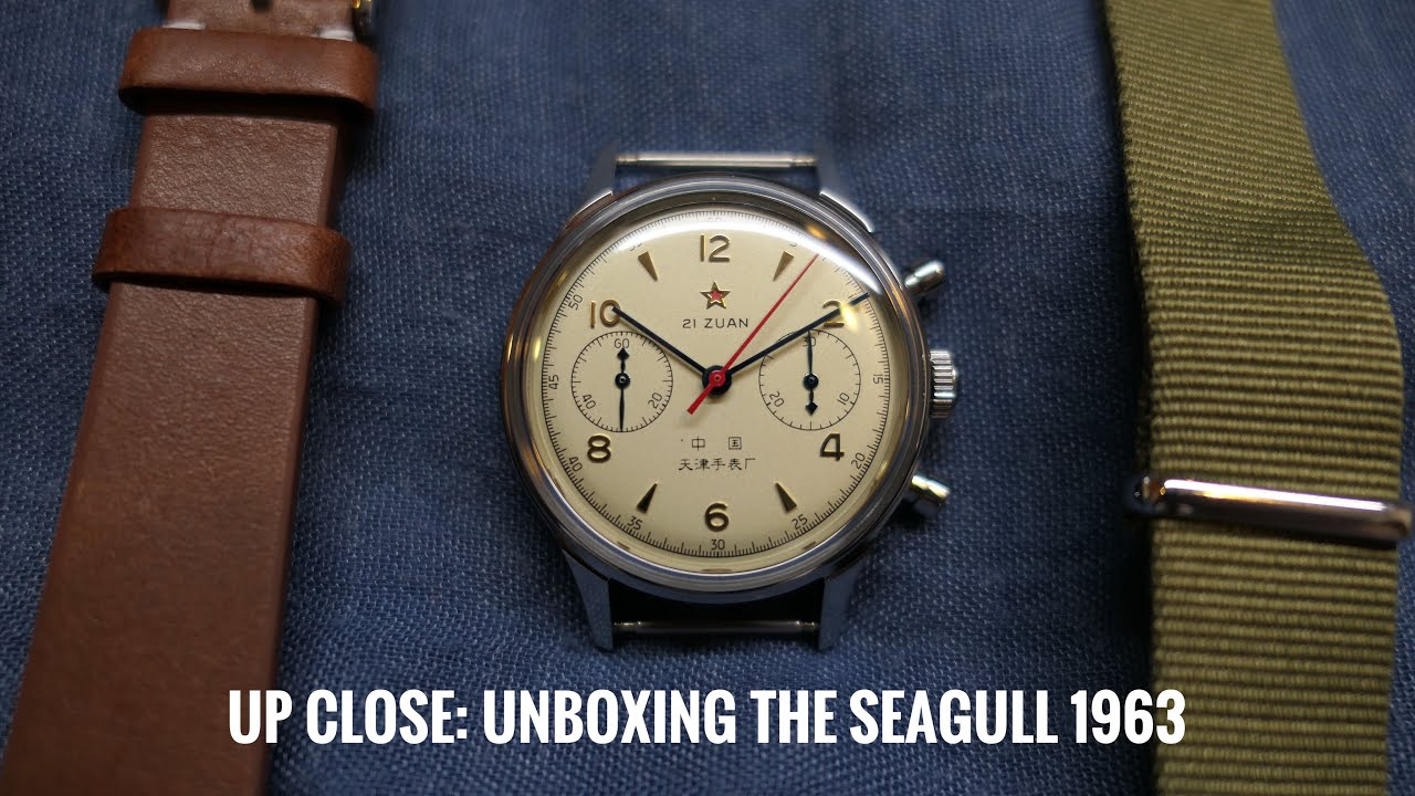 Seagull 1963 Manual Wind Watch: Unboxing this beauty from China  (Watch Demo)