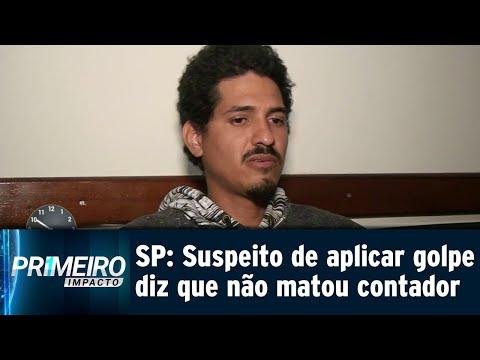 Suspeito de aplicar golpe do 'Boa noite, Cinderela' é preso | Primeiro Impacto (14/09/18)