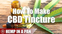 How To Make A CBD Tincture From Scratch