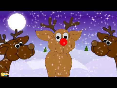 Rudolph The Red Nosed Reindeer Christmas Song For Kids I Christmas Songs I Christmas Carols