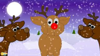Rudolph The Red Nosed Reindeer | Christmas Songs for Kids I New Christmas Songs I Christmas Carols