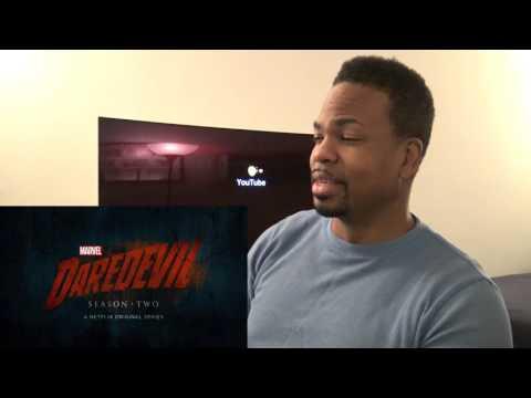 Marvel's Daredevil - Season 2 - Official Trailer - Part 1 REACTION!!!