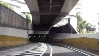 首都高速K1上り 石川町JCT~生麦JCT