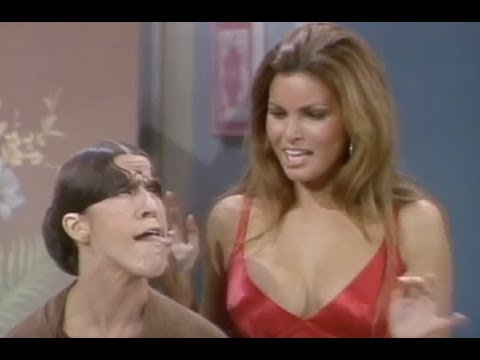 Gladys Asks Raquel Welch For Glamour Tips  Rowan & Martin's LaughIn  George Schlatter