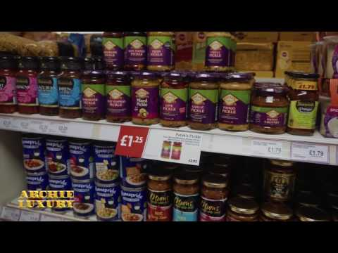 LIFE IN LOWER MIDDLE CLASS BRITAIN - The English corner store - English diet