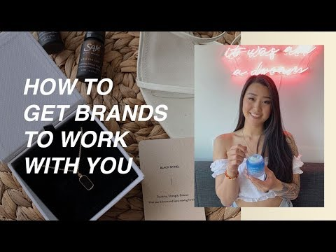 How To Get Brands To Work With You (Pitch, Media Kits, & Standing Out!)