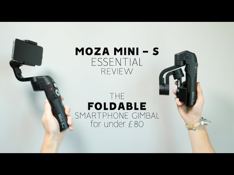 MOZA MINI S Essential REVIEW - Is This The BEST BUDGET Foldable Smartphone GIMBAL For UNDER £80