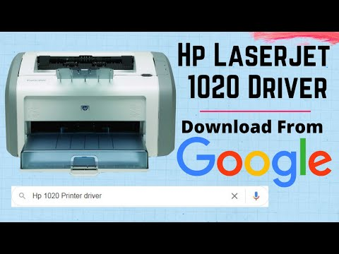 HP LASERJET 1020 PCL 6 TREIBER WINDOWS 10