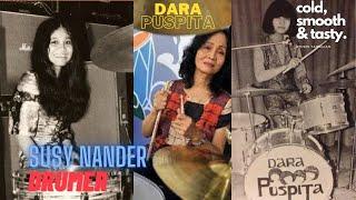SUSY NANDER / Drumer Band Rock Pertama Wanita di Indonesia.