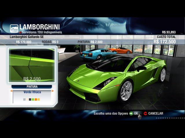 Test Drive - Lamborguini Gallardo SE 280Km/h