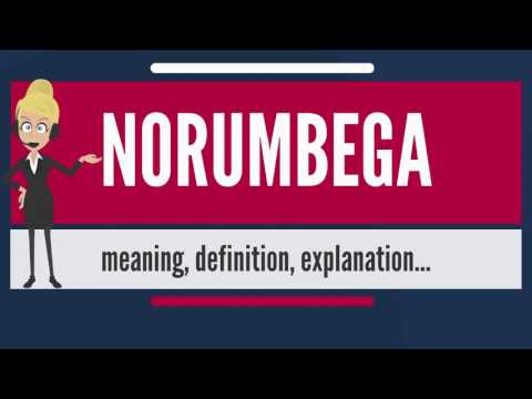 What is NORUMBEGA? What does NORUMBEGA mean? NORUMBEGA meaning, definition & explanation