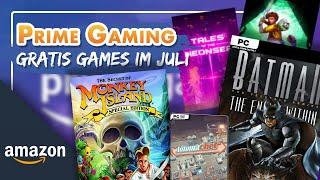 🎮 Gratis Games bei Prime Gaming im Juli 2021