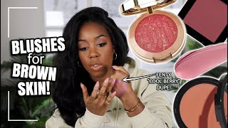 SUBSCRIBE TO MY CHANNEL HERE http://bit.ly/2tTLS29 Thank you for watching my Top Drugstore Blushes for Brown Skin! In this video I share some of my ...
