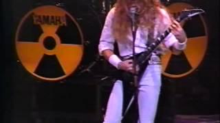 Megadeth - Live In Detroit 1990 [Full Concert] /mG