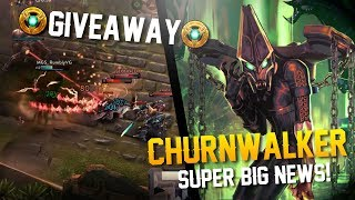 Vainglory Gameplay - Episode 330: NEW HERO + GIVEAWAY!! Churnwalker Gameplay [Update 2.9]