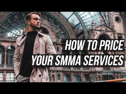 HOW TO PRICE YOUR SOCIAL MEDIA MARKETING (SMMA) SERVICES thumbnail