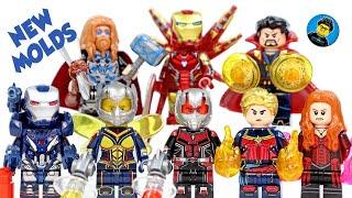 Avengers Endgame Final Battle w/ new Molds & Helmets Unofficial LEGO Minifigures