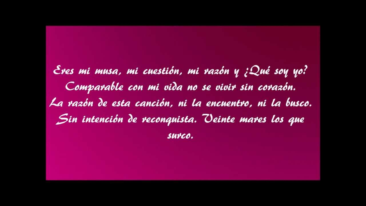 Pol Buenos Días Princesa Letra Hd Youtube