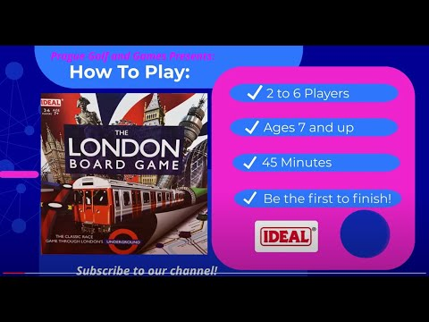 How to Play The London Board Game