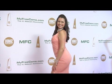 Allie Haze XBIZ Awards 2017 Red Carpet Fashion