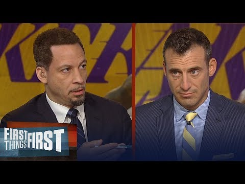 Chris and Doug on how much longer LeBron will be in his prime   NBA   FIRST THINGS FIRST