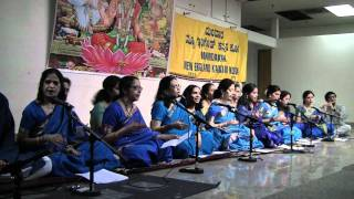 Ambiga Naa Ninna Nambide - NEKK Purandara Dasa Day 2011