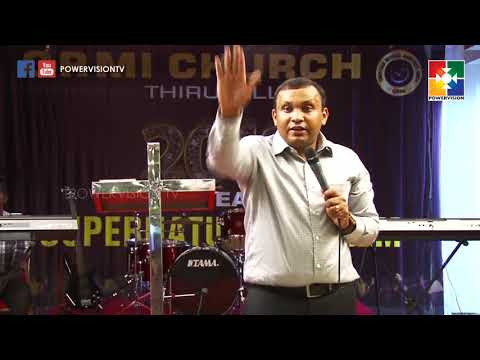 Christian Revival Ministries India | Bishop.Sujith James Abraham | Powervision TV | 14.04.18