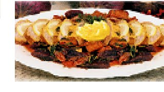 Горячие вторые блюда на НОВЫЙ ГОД 2016, новогоднее меню! Судак (карп, треска) на пару с овощами New