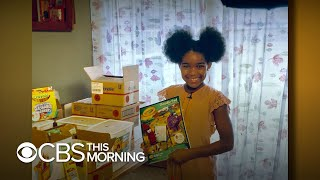 Fourth grader creates art kits with multiple skin tones
