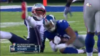 Tom Brady Intercepted with One-Handed Pick by Trevin Wade! | Patriots vs. Giants (Preseason) | NFL