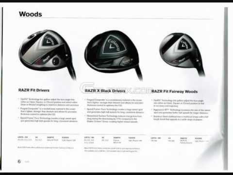 2012 Callaway Golf RAZR X Black
