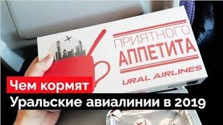 обзор бортового питания Уральских авиалиний в 2019 году